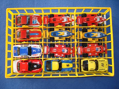Box 46 Nascar Rokar HO Slot Cars