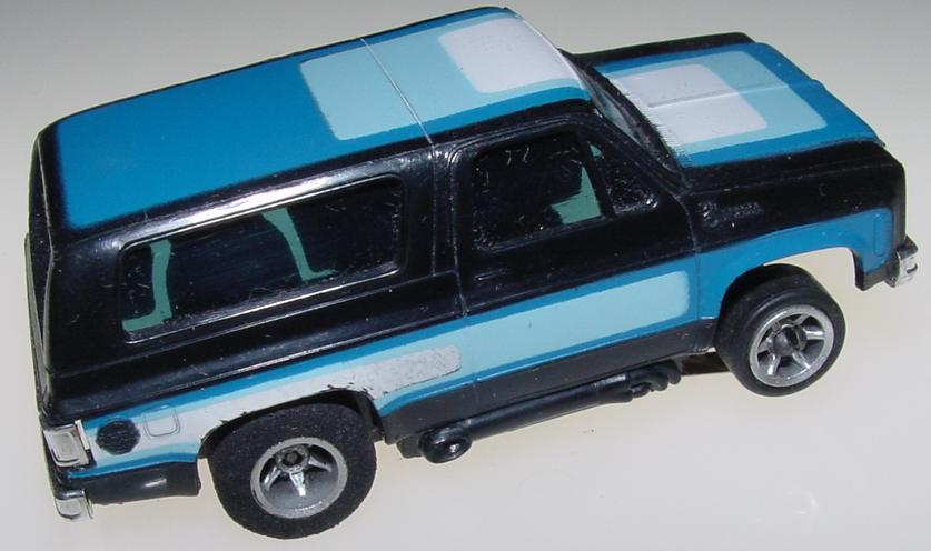 Aurora AFX HO Scale Chevrolet Blazer Slot Car Trunk