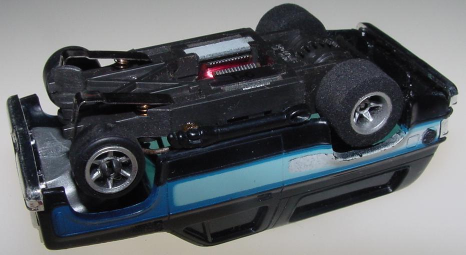 Aurora AFX HO Scale Chevrolet Blazer Slot Car Chassis