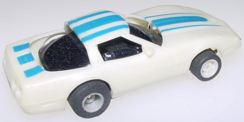 Tyco Chevrolet Corvette HO Slot Car Runner Trunk
