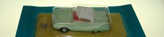 Atlas HO Slot Car Seafoam Green Ford TBird