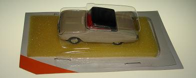 Atlas HO Slot Car Tan Ford Thunderbird