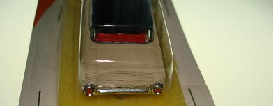 Atlas HO Slot Car Tan Ford Thunderbird Back Bumper
