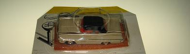 ATLAS HO SLOT CARS TAN STARFIRE OLDS OLDSMOBILE HARDTOP 1288 BLACK ROOF RED RUGS