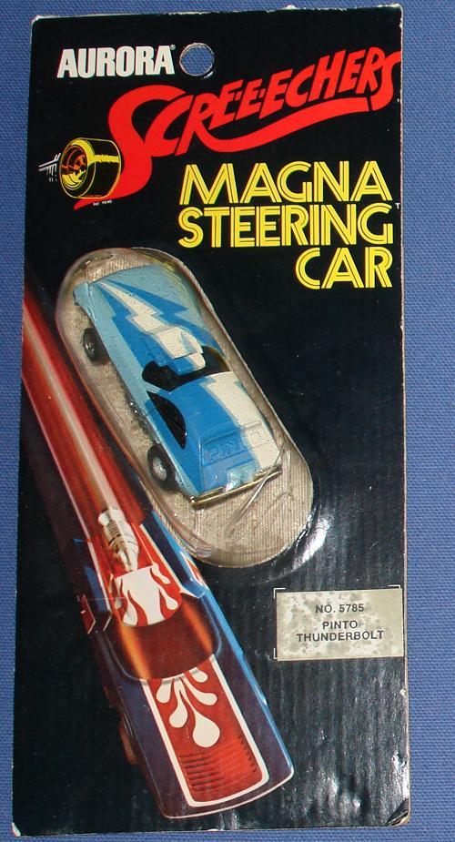 Aurora Screeechers Ford Pinto Thunderbolt HO Magna Steering Slot Car