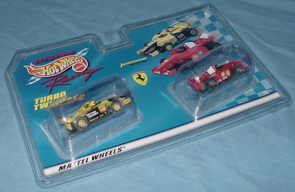 Hot Wheels Ferrari F1 Slot Cars