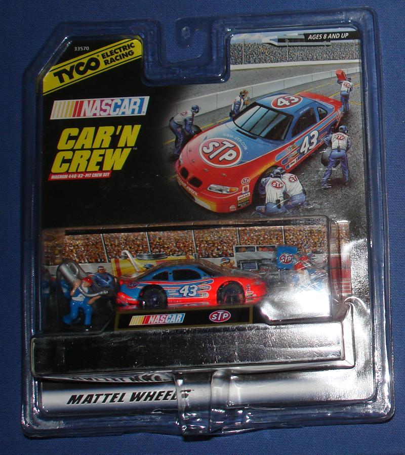 Tyco Mattel Hot Wheels Richard Petty 43 Nascar Slot Car N Crew