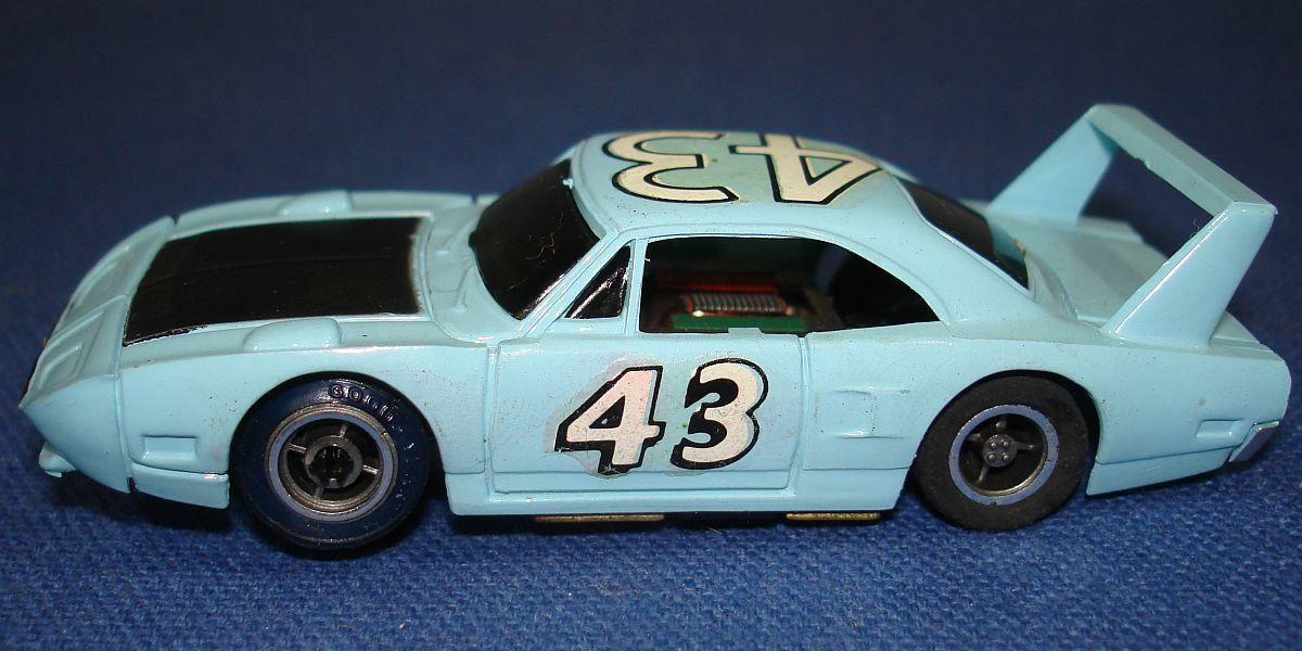 Tycopro Real Racing Richard Petty #43 Superbird 8833 Slot Car Driver Side Door Made In Hong Kong