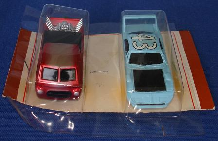 Tycopro Real Racing Richard Petty #43 Superbird 8833 Trick Truck 8832 Slot Cars Hood Front Bumper Grill