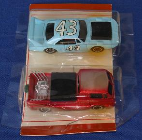 Tycopro Real Racing Richard Petty #43 Superbird 8833 Trick Truck 8832 Slot Cars