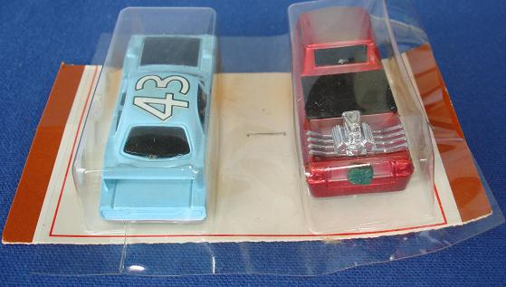 Tycopro Real Racing Richard Petty #43 Superbird 8833 Trick Truck 8832 Slot Cars Trunk Spoiler Bed Tailgate