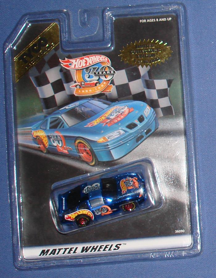 Tyco Mattel Hot Wheels 30th Anniversary Pontiac Grand Prix Slot Car