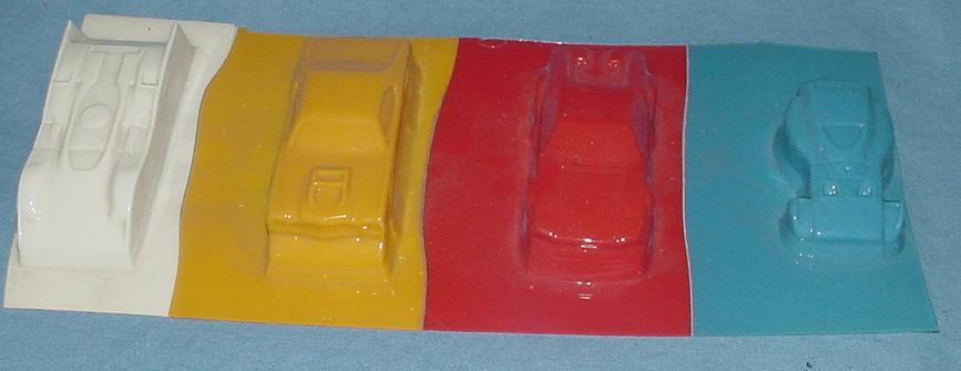AFX Vacuum Formed Slot Car Bodies