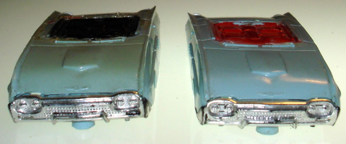 Atlas HO Slot Car Racing Ford Thunderbird Bodies Hoods