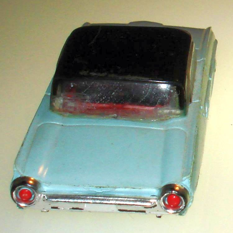 Atlas HO Slot Car Racing Ford Thunderbird Body Trunk Rear Windshield