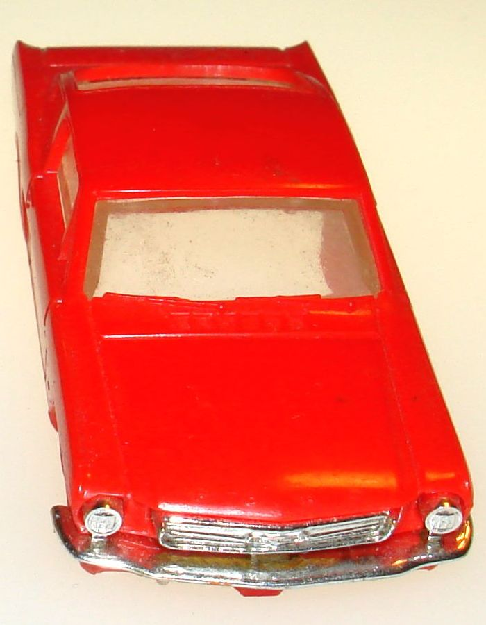 Atlas HO Slot Car Racing Ford Mustang Fastback Body Hood