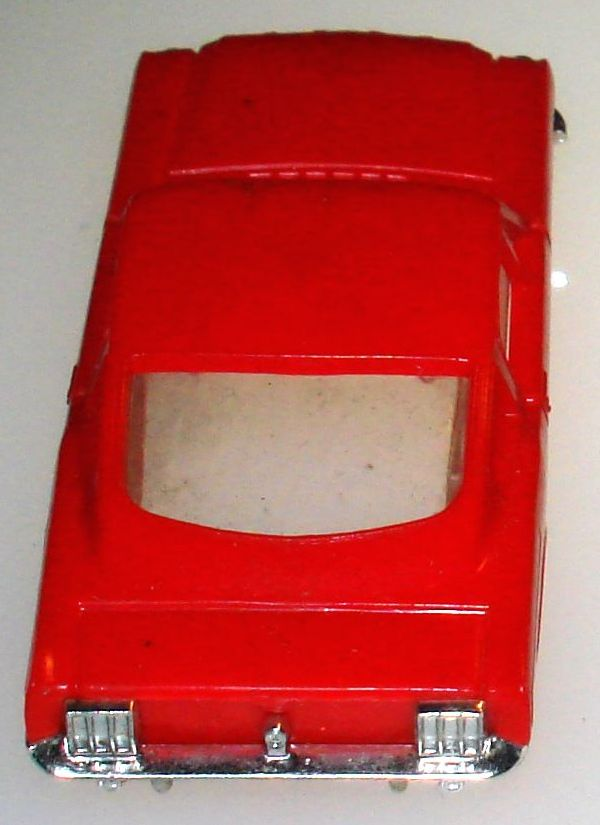 Atlas HO Slot Car Racing Ford Mustang Fastback Body Trunk