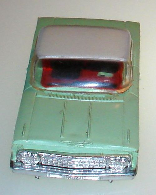 Atlas HO Slot Car Racing Chevrolet Impalas Body Hoods