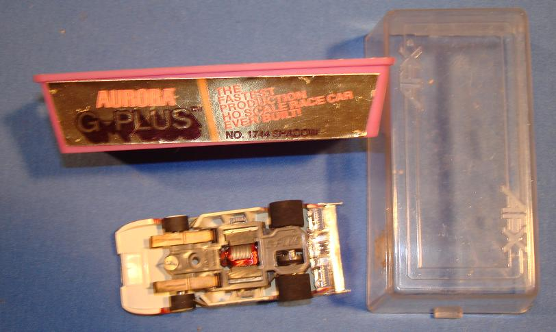 AFX HO GPlus CanAm Slot Car Chassis
