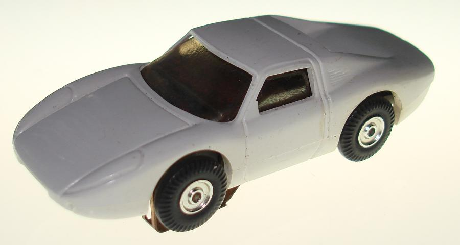 Atlas HO Scale White Porsche 904 1101 Slot Car Hood