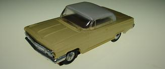 Atlas HO Slot Car Yellow Chevrolet Impala Front Bumper