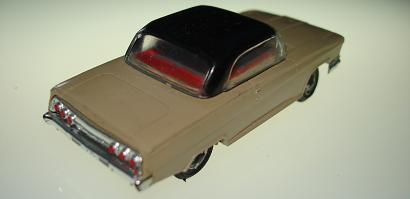 Atlas HO Slot Car Tan Chevrolet Impala Rear Bumper