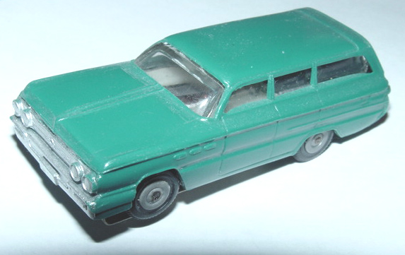 Atlas HO Scale Buick Station Wagon Slot Car