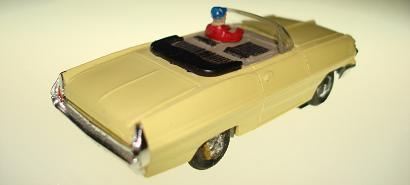 Atlas HO Slot Car Yellow Pontiac Grand Prix Rear Bumper