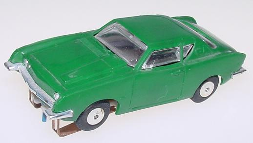 Atlas Studebaker Avanti Zingers #1311 HO Slot Car British Racing Green
