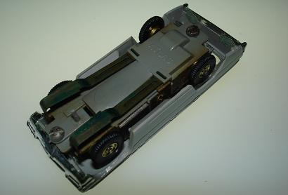 Atlas HO Slot Car Grey Station Wagon Chassis