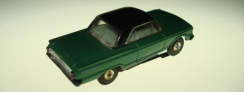 Aurora TJET Ford Fairlane Hardtop HO Slot Car Trunk