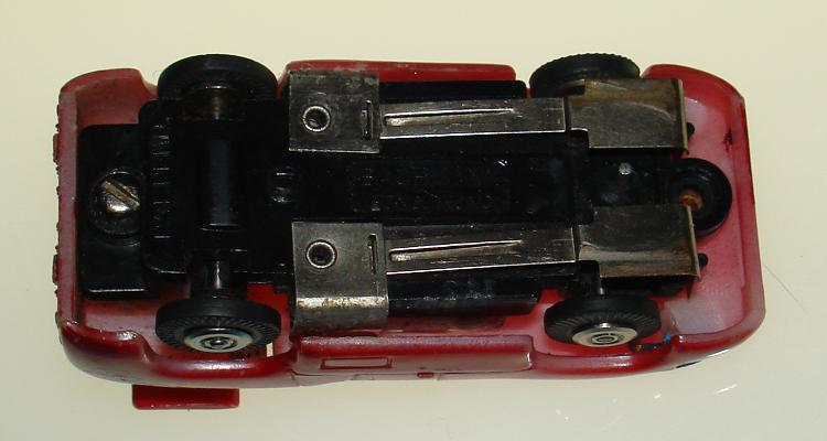 Bachmann 1:87 Scale Chaparral 2F Slot Car Runner Chassis