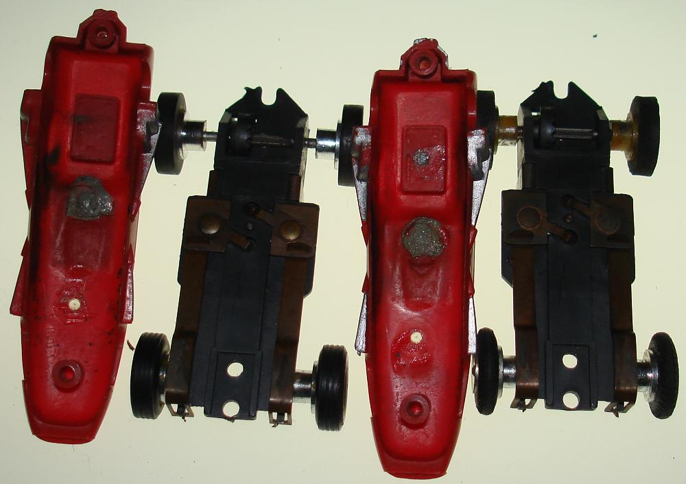 Aurora Repco Brabham Slot Car Slimline Chassis
