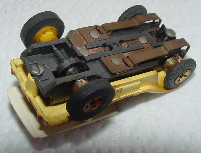 Aurora TJET Dune Buggy Slot Car