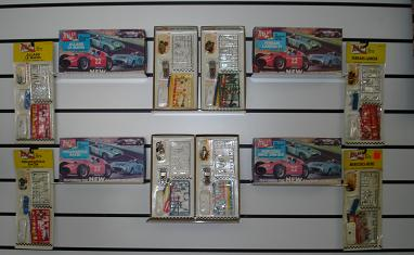 Atlas White Body HO Slot Car Kit Collection