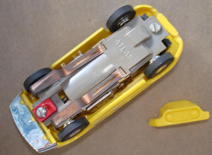 Atlas HO Slot Car Kit Allard LeMans Racer Lemon Runner Chassis
