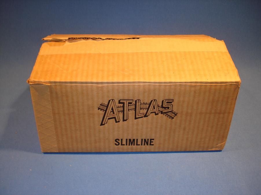 Atlas HO Slot Car Kit Allard Full Case Box