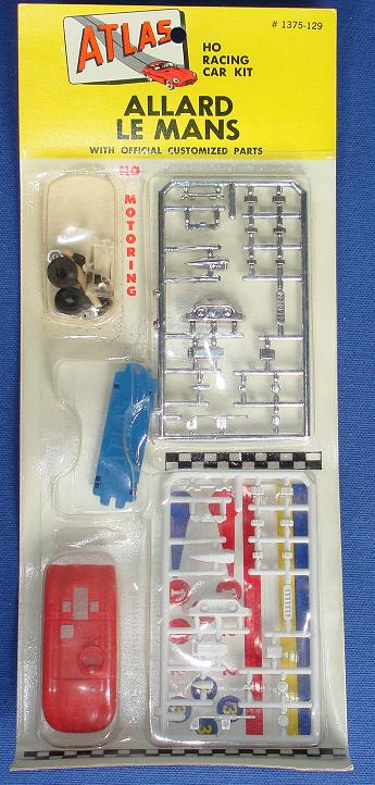 Atlas HO Slot Car Kit Allard Lemans