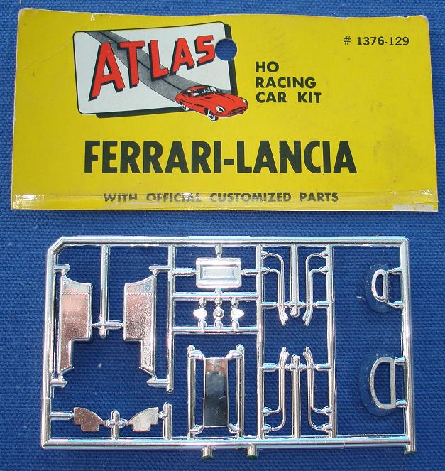 Atlas HO Slot Car Kit Ferrari Lancia Racer Spare Parts