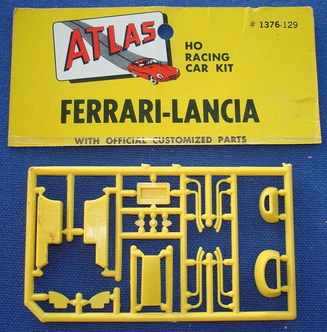Atlas HO Slot Car Kit Ferrari Lancia Racer Spare Parts