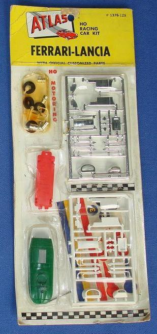 Atlas HO Slot Car Kit Ferrari Lancia Racer