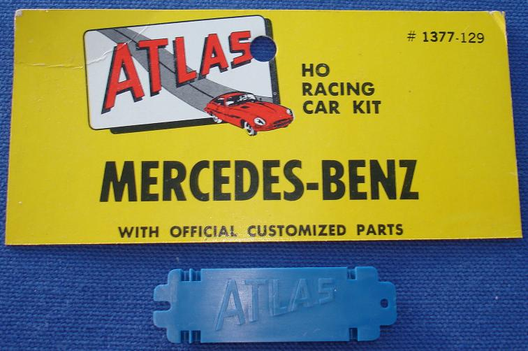 Atlas HO Slot Car Kit Mercedes Benz Chassis Base