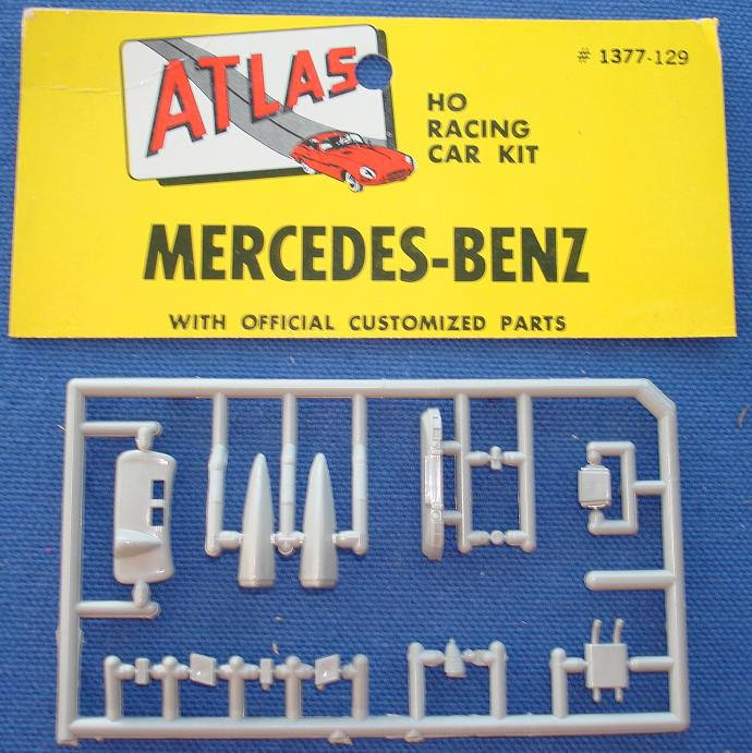 Atlas HO Slot Car Kit Mercedes Benz Racer Spare Parts