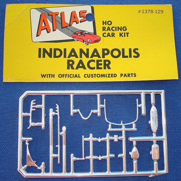 ATLAS HO MOTORING SLOT CARS INDY INDIANAPOLIS #1378 SPARE PARTS CHROME