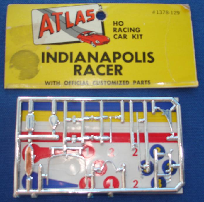 Atlas HO Slot Car Kit Indianapolis 500 Racer Spare Parts