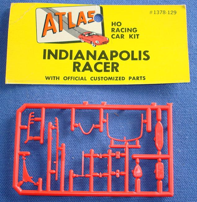 ATLAS HO MOTORING SLOT CARS INDY INDIANAPOLIS #1378 SPARE PARTS RED