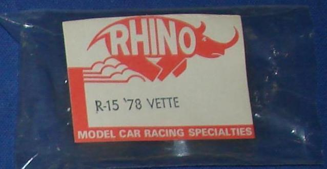 Rhino Clear Unpainted HO Slot Car Body Kit