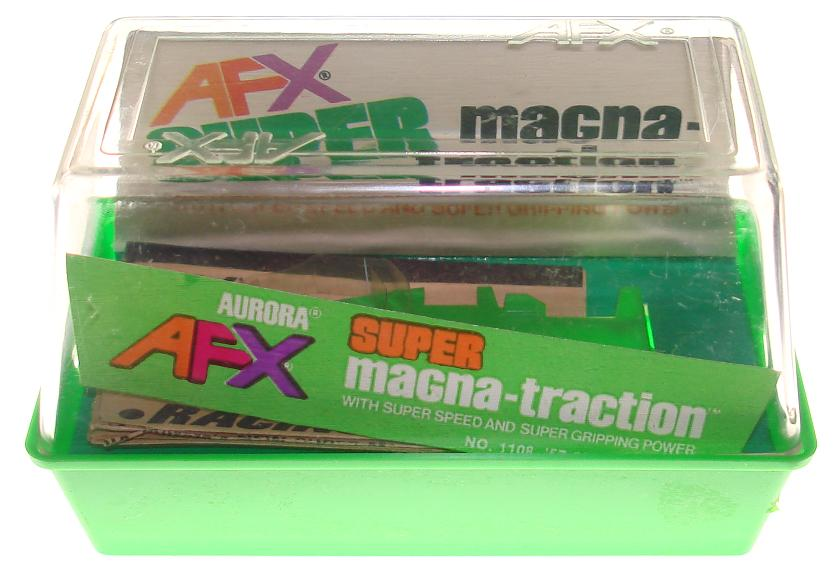 Aurora AFX Empty Super Magnatraction 1957 Chevy Nomad Slot Car Box