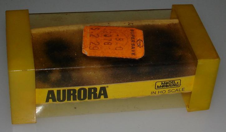 Aurora Model Motoring Thunderjet 500 #1476 Chaparral 2F Empty Tjet Slot Car Box Label & Foam