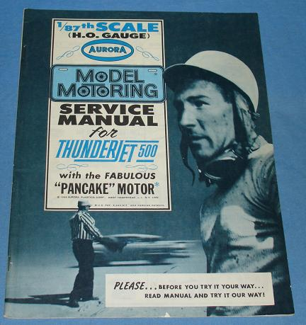 48 Page Aurora Model Motoring Service Manual